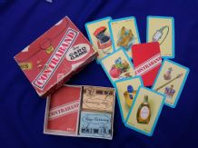 Vintage collectible cards game Contraband by Pepys.Circa 1950.